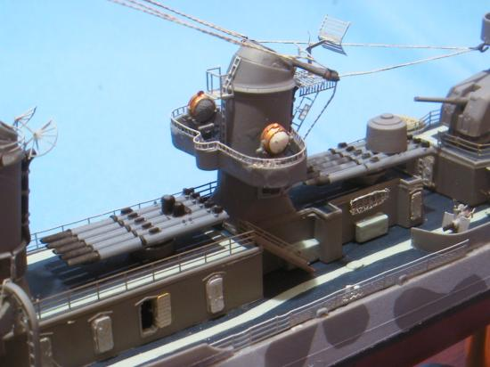 Fletcher Destroyer Ship Model