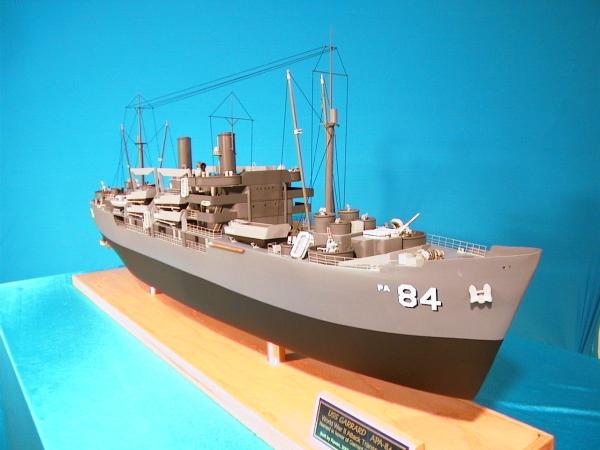 Ussgarrard Apa 84 Gilliam Class Attack Transport Model
